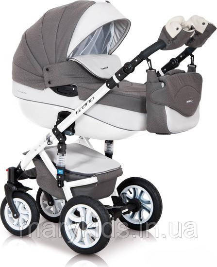 Детская универсальная коляска 3 в 1 Riko Brano Ecco 17 Stone