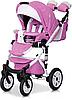 Детская универсальная коляска 3 в 1 Riko Brano Ecco 18 Baby Pink, фото 4