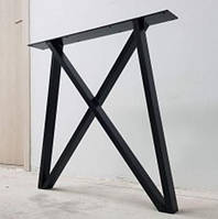 Опора для стола из металла,Металлическая ножка из трубы,Основание,Лофт