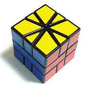 Головоломка Jiehui Скваер-1 (Square One), чорний пластик