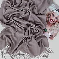Шарф палантин серый Ozsoy Адель из пашмины 120-45