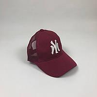 Тракер бейсболка New York Yankees - бордовый