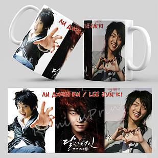 Чашка Ли Джун Ки (Lee Jun Gi)