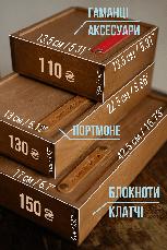 Кожаный кошелек Promo Оливковый, фото 2