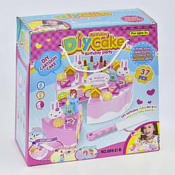 Подарочный набор сладостей на липучках  37 предметов, песня на английском языке, свет, в коробке