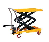 Cтол гидравлический мобильный CPTD800, г/п 800 кг, высота подъема 1500 мм, платформа 1200x610 мм