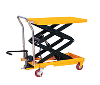 Cтол гидравлический мобильный CPTD1000, г/п 1000 кг, высота подъема 1700 мм, платформа 1200x610 мм