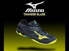Кроссовки волейбольные Mizuno Thunder Blade v1ga1770-47, фото 3