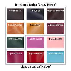 Кожаный кошелек Gazda женский Розовый, фото 2