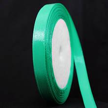 Лента Атласная 10мм, Цвет: Зеленый, Ширина: 10мм, около 25м/катушка, (УТ000006303)