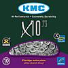 Ланцюг велосипедна KMC X10.73, 10 spd., 114 зв, фото 2