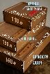 Шкіряна ключниця «Keysi Fuchsia» жіноча малинова (9,5x9 см) ручної роботи, фото 3