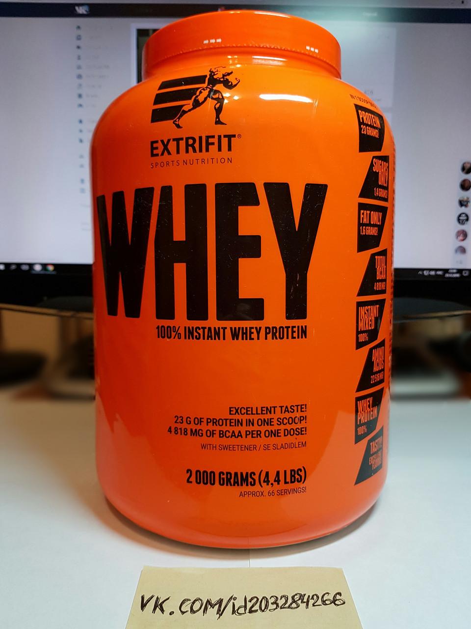 Протеин Extrifit 100% Instant Whey Protein 2000 g