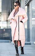 Зимнее модное пальто - одеяло