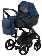 Детская универсальная коляска 2 в 1 Bair Mirello кожа 100%
