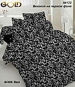 Двухспальный постельный комплект Белый вензель