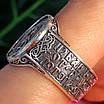 Серебряное мужское кольцо Архангел Михаил с молитвой - Кольцо Архистратиг Михаил серебро, фото 3