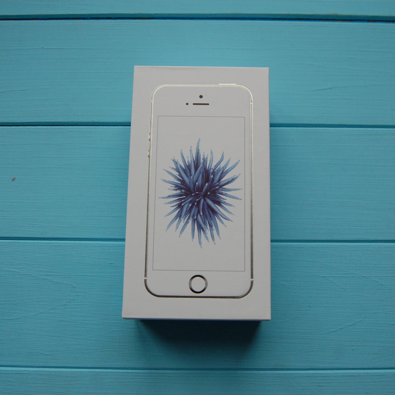 Коробка Apple iPhone SE Silver