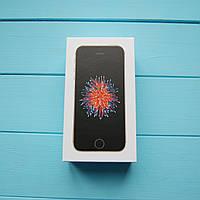 Коробка Apple iPhone SE Space Gray