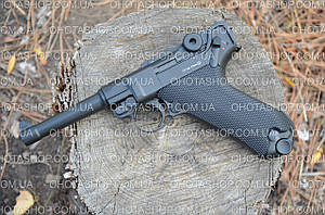 Пневматический пистолет KWC P-08 Luger KMB41D