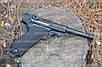 Пневматичний пістолет KWC P-08 Luger KMB41D, фото 2