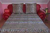 """Двуспальный комплект постельного белья """"Леопард"""""""