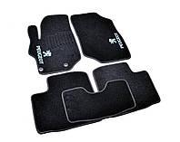 Коврики в салон ворсовые для Peugeot 301 (2012-) /Чёрные, кт. 5шт BLCCR1468