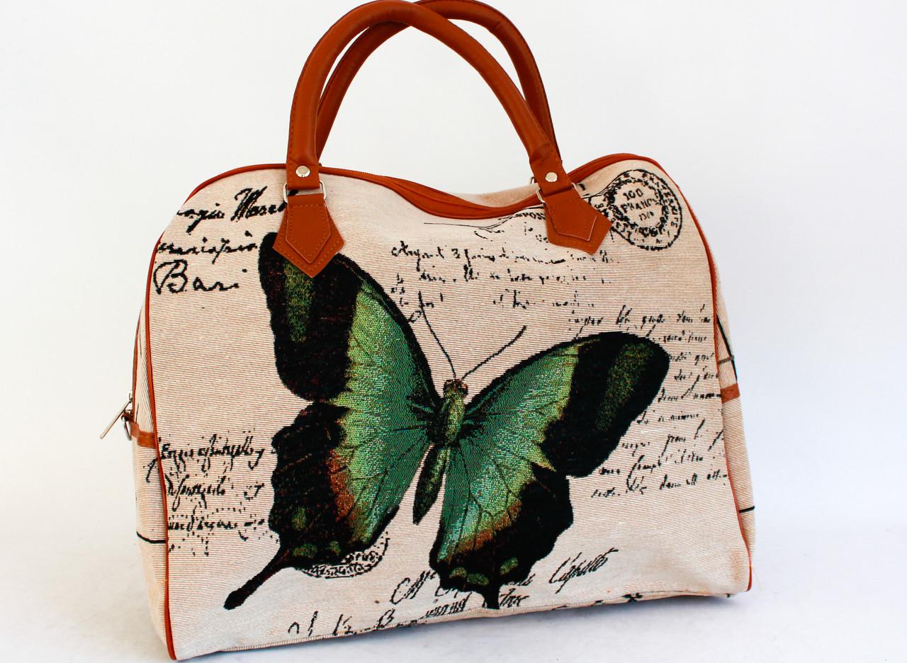 Оригинальная женская сумка, саквояж YR998-1 (42см )
