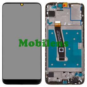 Huawei P Smart 2019, (высота=151мм), POT-LX1, POT-LX3, POT-AL00 Дисплей+тачскрин(модуль) черный *в рамке
