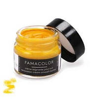 Жидкая кожа цвет желтый  для обуви и кожаных изделий Famaco Famacolor, 15 мл