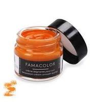 Жидкая кожа цвет оранжевый  для обуви и кожаных изделий Famaco Famacolor, 15 мл