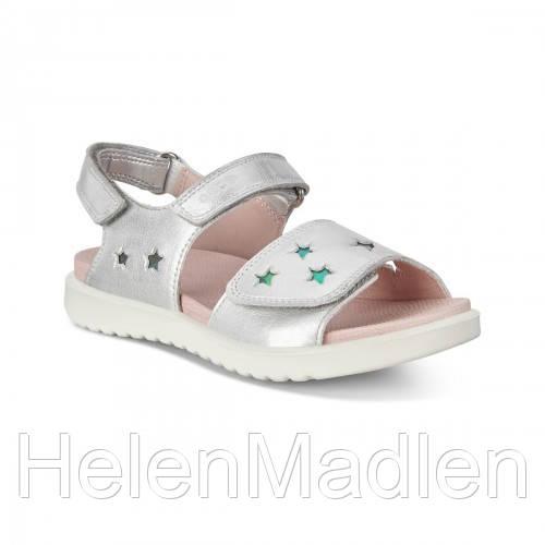 Детские сандалии Ecco Flora серебряный размер 31 оригинальные