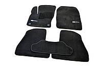 Коврики в салон ворсовые для Ford Focus III (2011-) /Чёрные Premium BLCLX1152