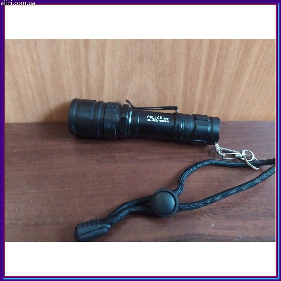 Светодиодный фонарик Police 8351 100w CREE-Q5