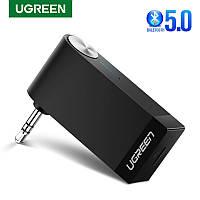 Bluetooth 5.0 ресивер (адаптер) Ugreen с 3.5 мм (с микрофоном для автомагнитол), фото 1