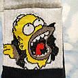 Носки мужские Гомер Симпсон черные размер 39-43, фото 3