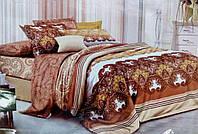 Комплект постельного белья от украинского производителя Polycotton Полуторный T-90967