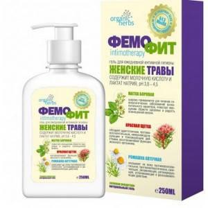 Фемофит гель для інтимної гігієни без мила 250мл, фото 2