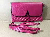 Сумочка-клатч женский стеганый 24х15х4 см / Розовый, фото 1