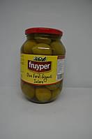 Оливки зеленые супер-гиганты Fruiper с косточкой 830/500 г, фото 1