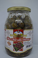 Гигантские оливки Bella Cantadina с пряностями без рассола, 600 г Италия