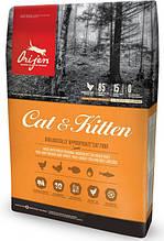 Сухой корм для кошек на всех стадия жизни Ориджен Orijen Cat&Kitten 340 г