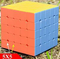 Кубик Рубика 5x5 (5е поколение с разными отверстиями)