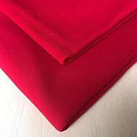 Трехнитка с начесом красная, плотность 320 г/м2