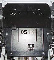 Защита картера Renault Logan 2012- V-1,2; 1,6;,МКПП/Б,двигун, КПП, радіатор ( Рено Логан)