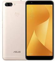 "Смартфон Asus ZenFone 4S Max Plus 4/32Gb Gold, 16+8/8Мп, 4130 мАч, 2sim, 5.7"" IPS, MT6750T, M1 ZB570TL, фото 1"