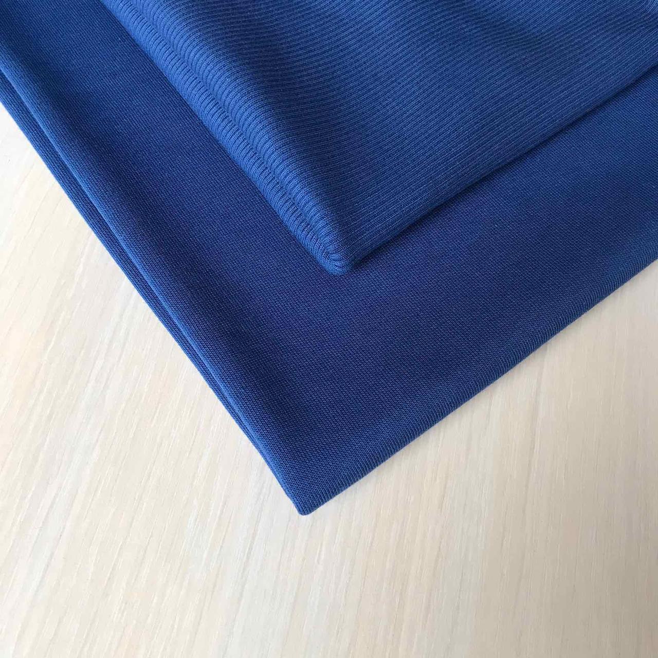 Трехнитка с начесом Темный джинс, плотность 320 г/м2