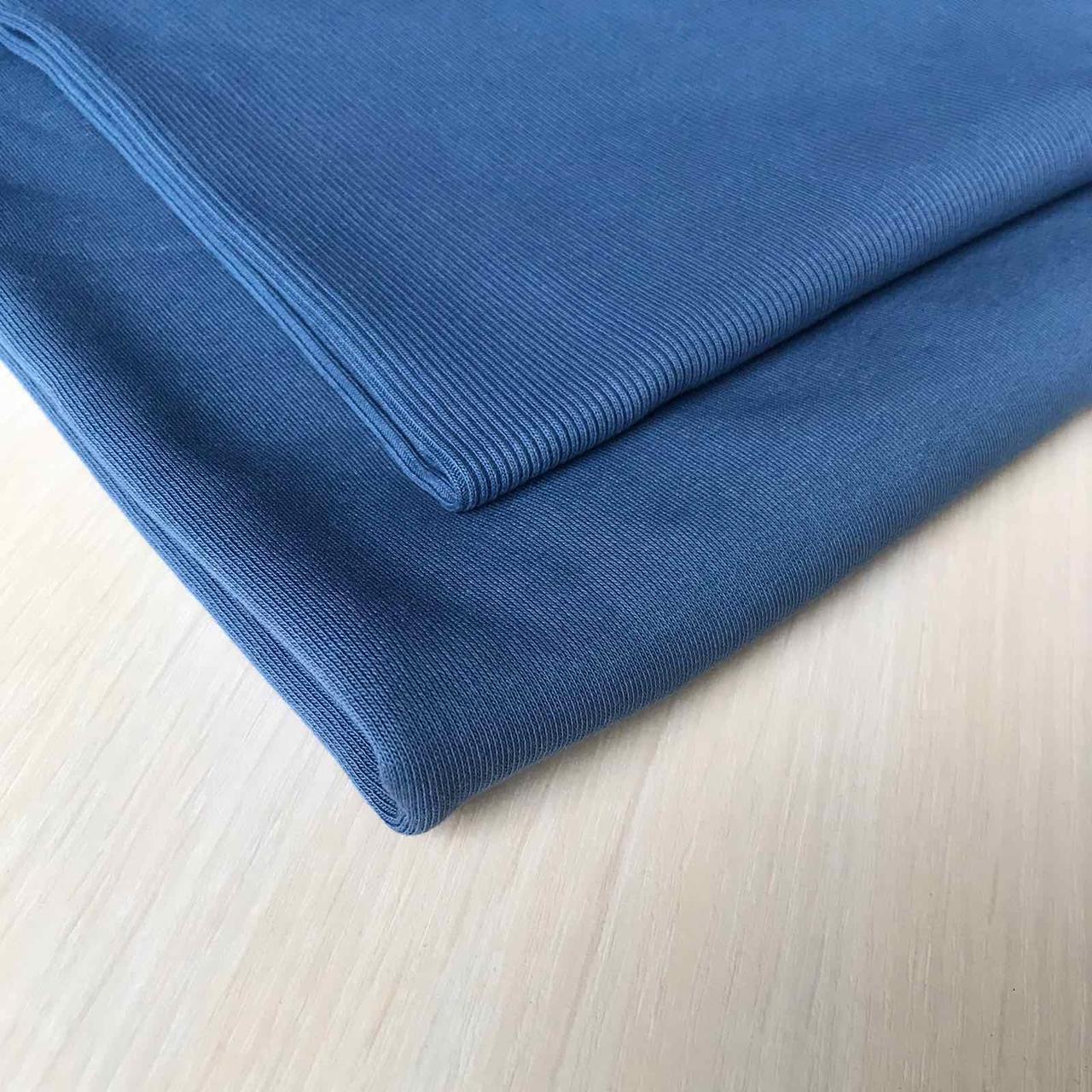 Трехнитка с начесом Светлый джинс, плотность 320 г/м2