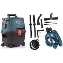 Промышленный влажный и сухой пылесос 230 В 1100 Вт 270 мбар Bosch GAS 15 PS Professional