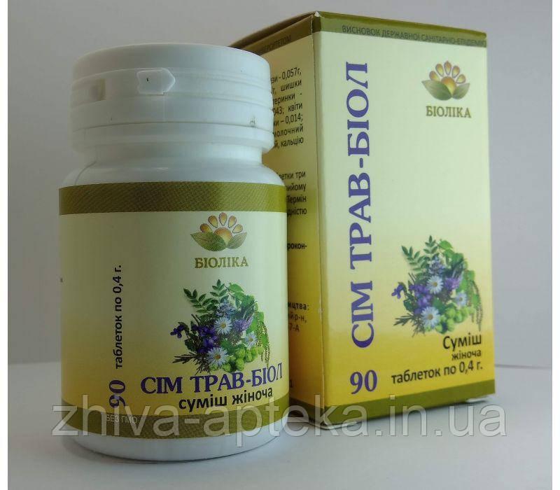 Семь трав-биол (90 шт) женская формула